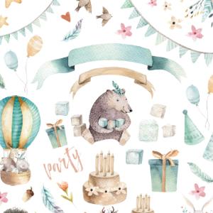 BIRTHDAY PARTY(バースデーパーティー)※A4サイズ