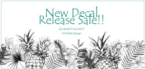 2017蟷エ6譛・Release Sale!!