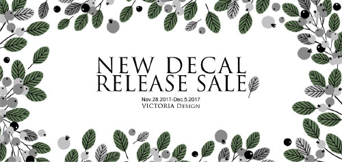 Release Sale 11月
