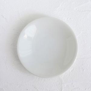 ポーセラーツ白磁:16.3cmメタプレート