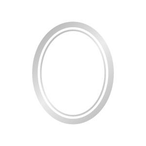 ポーセラーツ転写紙:FRAME SIMPLE (フレームシンプル・プラチナ)