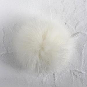 ツール:ファーポンポン [L] (ホワイト)