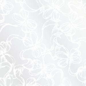ポーセラーツ転写紙:RIBBONS (リボン・ガラスホワイト)