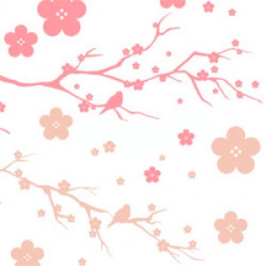ポーセラーツ転写紙:JAPONISM (ジャポニズム・ピンク)