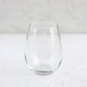 ポーセラーツ白磁・グラス:ワインタンブラーグラス